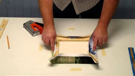 How To Stretch Canvas Diy