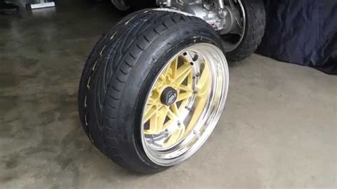 How To Stretch Tires On Wheels