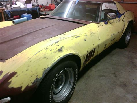How To Strip Lacquer Paint From Corvette
