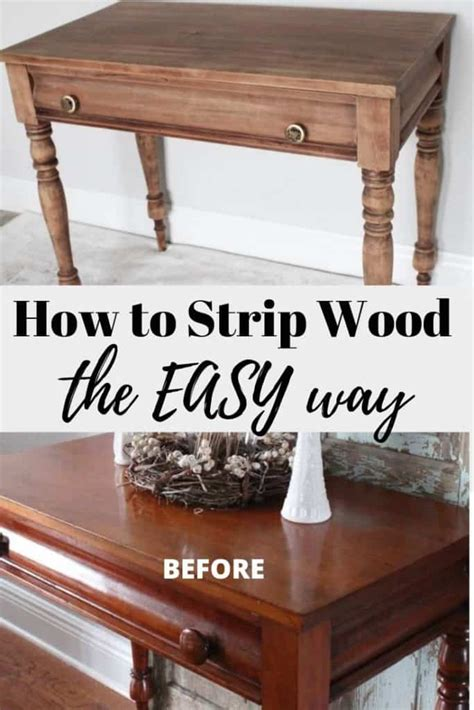 How To Strip Varnish From Furniture