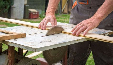 How To Table Saw Wood Without Splintering