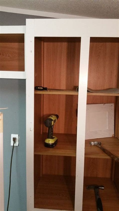 How To Take Cabinets Off The Wall