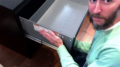 How To Take Drawer Out Of Hon File Cabinet