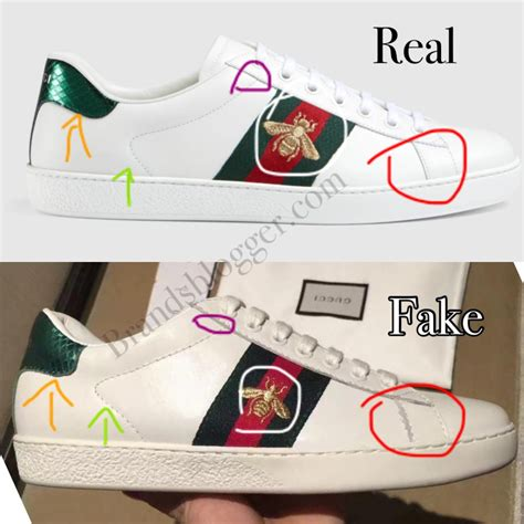 How To Tell Real Gucci Sneakers From Fake