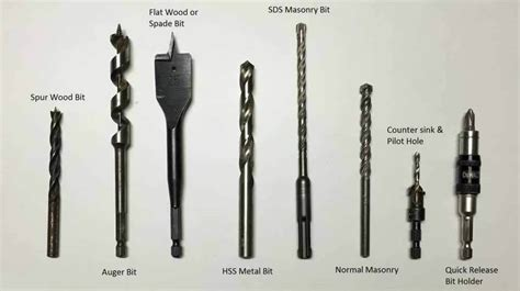 How To Tell The Difference Between Wood And Metal Drill Bits