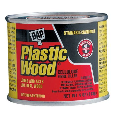 How To Thin Dap Plastic Wood Filler