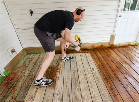 How To Thin Deck Stain For Spraying