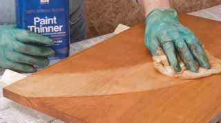 How To Thin Oil Based Wood Stain