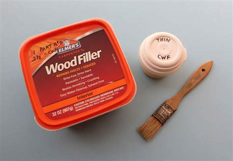 How To Thin Out Wood Filler