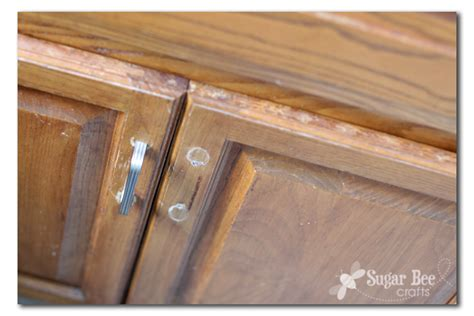 How To Touch Up Stained Wood Cabinets