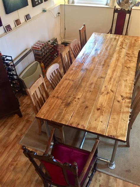 How To Transform Dining Table Diy Pipe