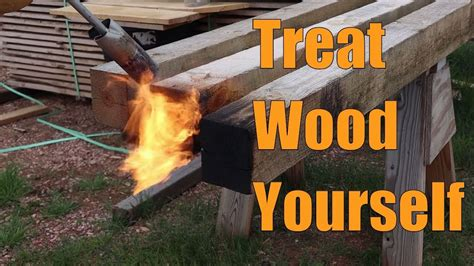 How To Treat Wood Yourself