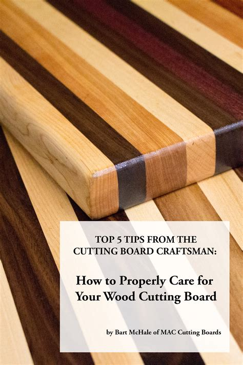How To Treat Wooden Cutting Boards