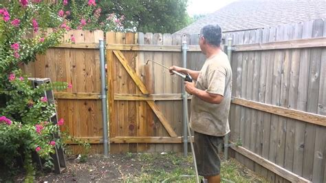 How To Treat Wooden Fence