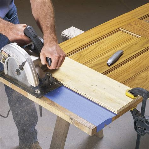 How To Trim A Door With A Circular Saw