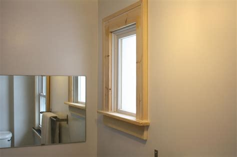 How To Trim A Window With A Sill