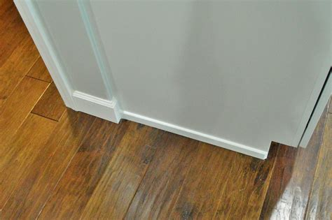 How To Trim Around Kitchen Cabinets