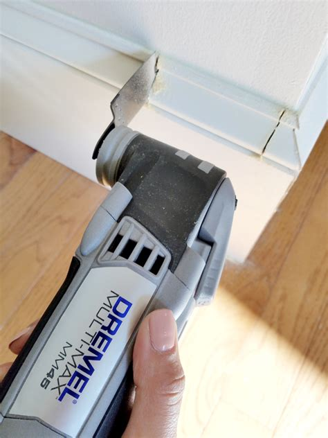 How To Trim Door Casing With A Dremel Tool