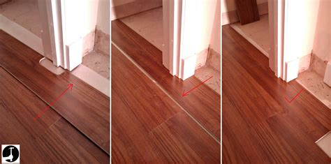 How To Trim Laminate Flooring In Doorways