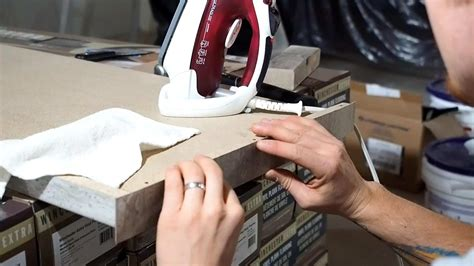 How To Trim Laminate On A Edge