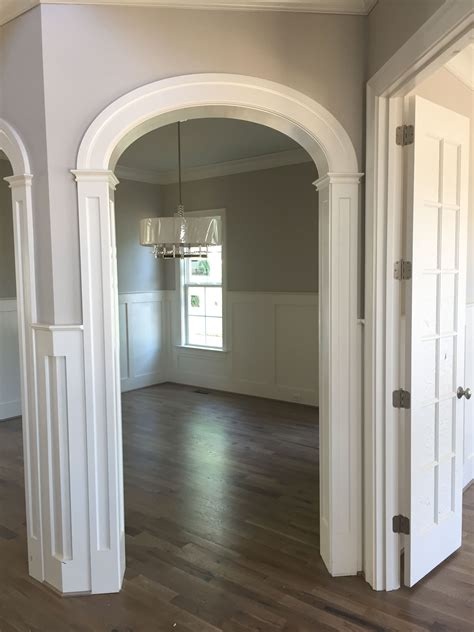 How To Trim Out An Arched Doorway