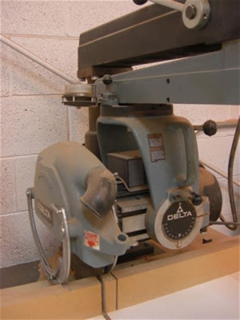 How To Tune Up A Radial Arm Saw