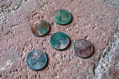 How To Turn A Penny Green