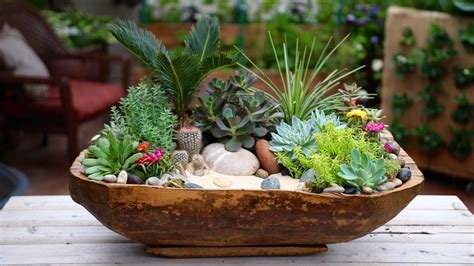 How To Turn A Wooden Bowl Into A Planter