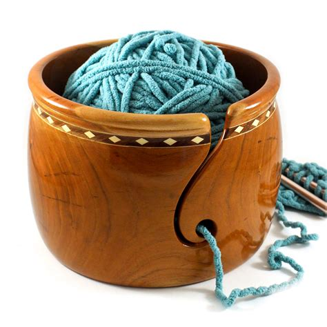 How To Turn A Wooden Bowl Into A Yarn Bowl