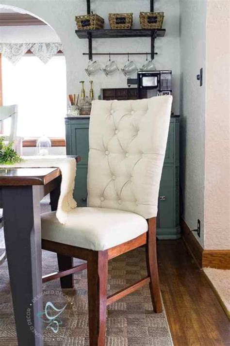 How To Upholster A Round Wooden Chair