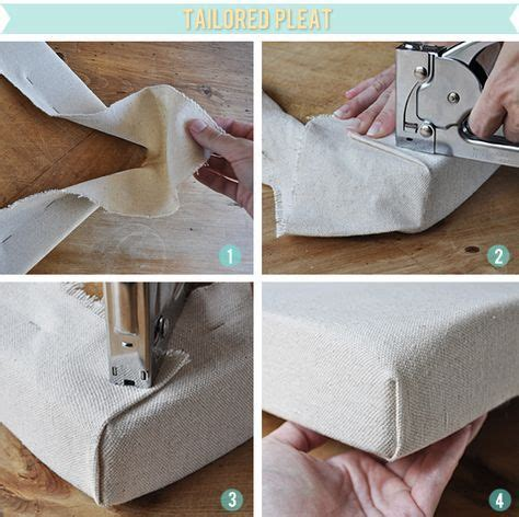 How To Upholster Corners On A Bench