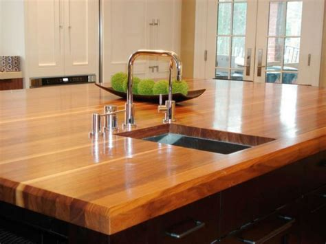 How To Urethane Wood Countertops