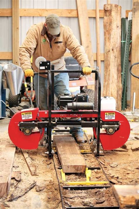 How To Use A Bandsaw Mill