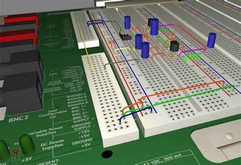 How To Use A Breadboard In Multisim