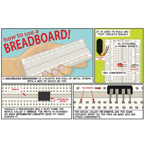 How To Use A Breadboard Pdf