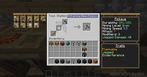 How To Use A Chisel In Tinkers Construct