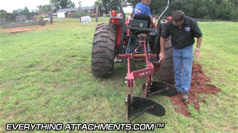 How To Use A Chisel Plow To Break Land
