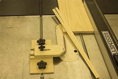 How To Use A Chop Saw With A Thin Board