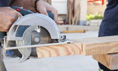 How To Use A Circular Saw Properly Basic Belief