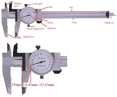 How To Use A Dial Caliper Worksheet