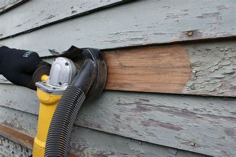 How To Use A Disc Sander To Remove Paint From Wood Siding