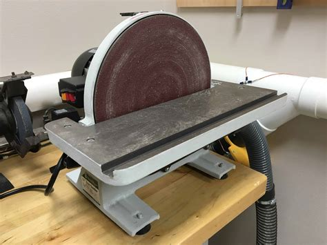 How To Use A Disk Sander