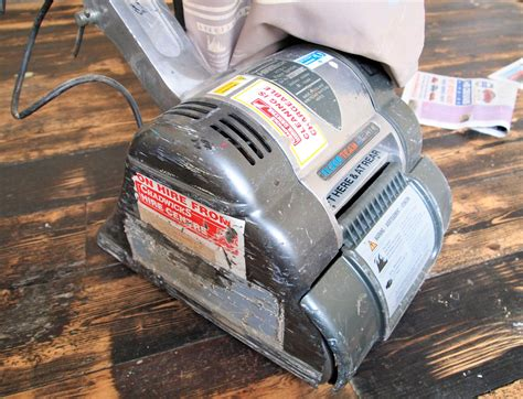 How To Use A Drum Sander For Hardwood Floors