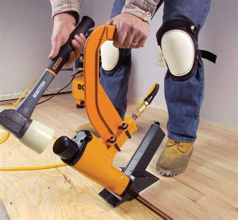 How To Use A Finish Nailer To Install Hardwood Floor