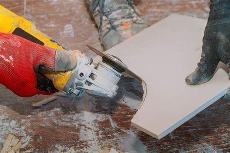 How To Use A Grinder To Cut Mosaic Tile