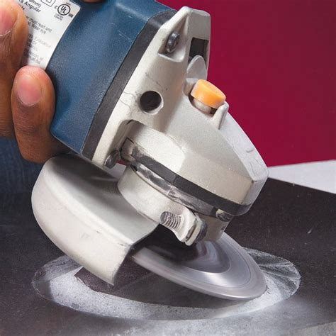 How To Use A Grinder To Cut Tile