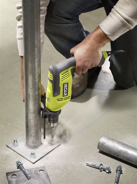 How To Use A Hammer Drill On Concrete