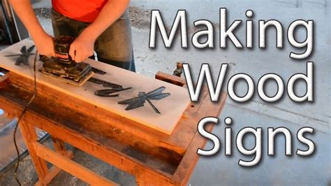 How To Use A Hand Router Making Signs Youtube