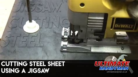 How To Use A Jigsaw To Cut A Hole In Stainless Steel