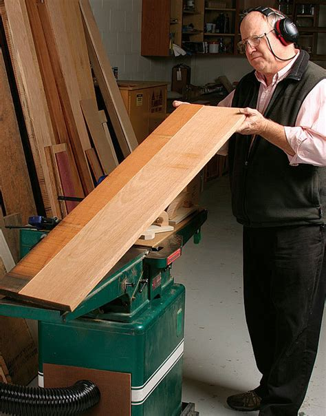 How To Use A Jointer For Wide Boards